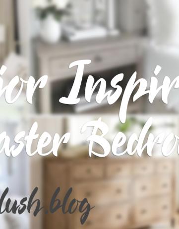 Interior Inspirations: Master Bedroom
