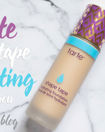 Tarte Shape Tape Hydrating Foundation: Hit or Miss?