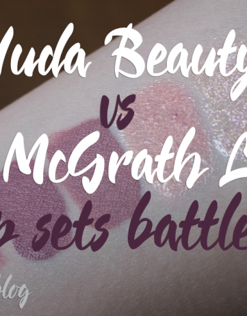 Lip Sets Battle: Huda Beauty vs Pat McGrath Labs