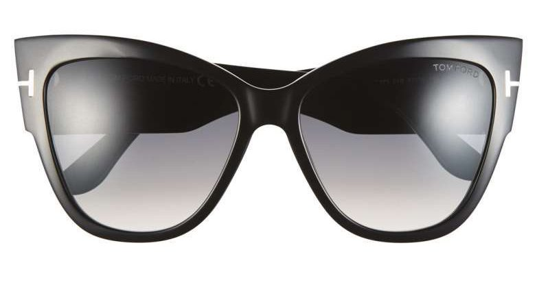 Anoushka 57mm Gradient Cat Eye Sunglasses  TOM FORD