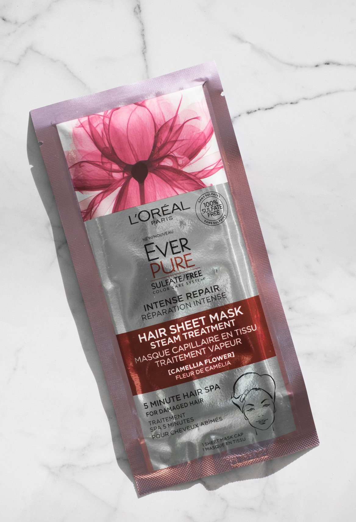 ever pure hair sheet mask