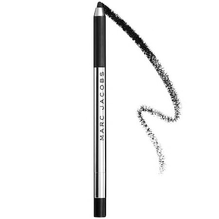Marc Jacobs Highliner Eye Crayon in Blacquer With Swatch