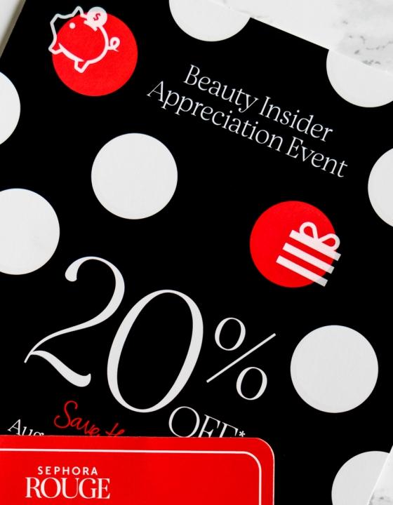 Top 10 Picks at Sephora Beauty Insider Appreciation Event