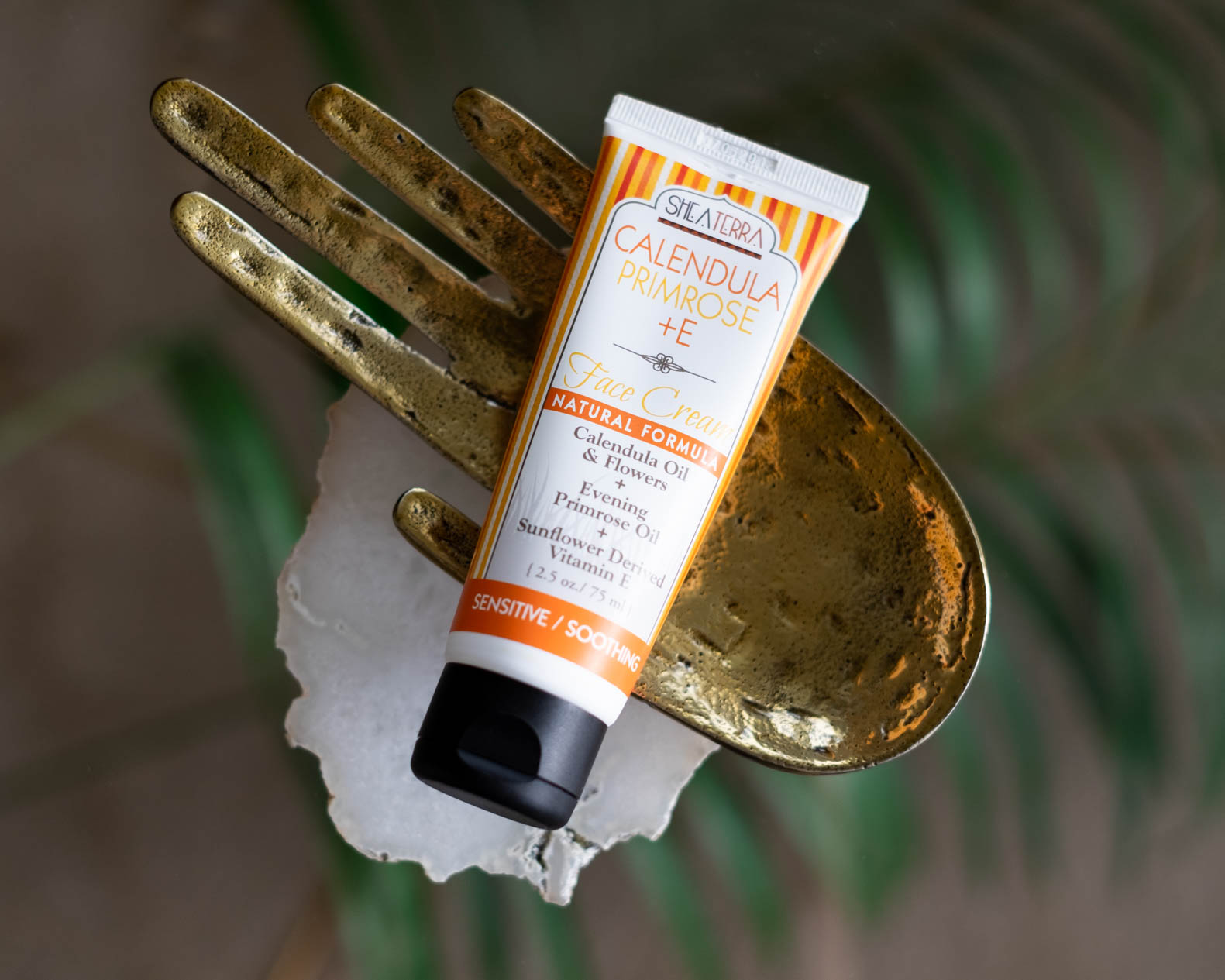 Shea Terra Organics Calendula Primrose + E Face Cream