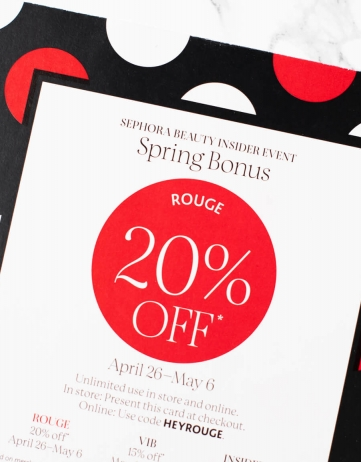 Sephora Spring Bonus 2019: What to Buy