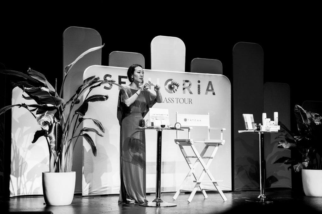 Victoria Tsai Sephoria Tatcha Masterclass Tour in Houston, TX