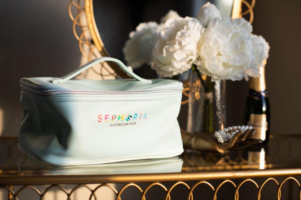 Sephoria Masterclass Tour swag bag