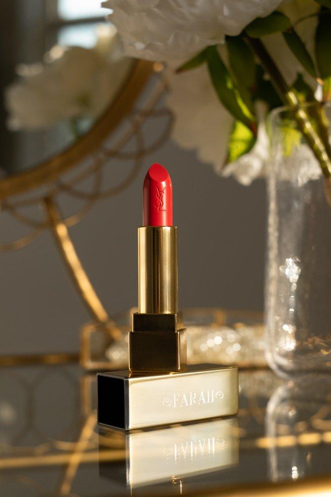 YSL engraved lipstick
