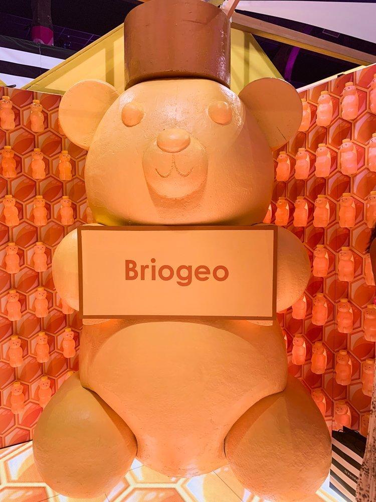 Briogeo booth at Sephoria