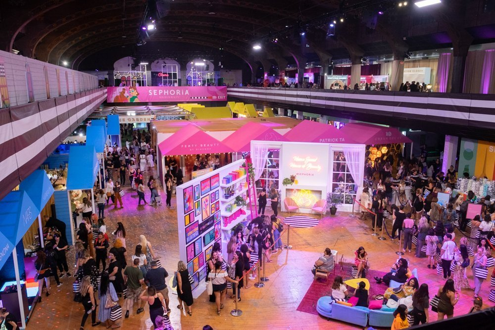 Sephoria House of Beauty 2019, The Shrine Auditorium and Expo Hall in Los Angeles
