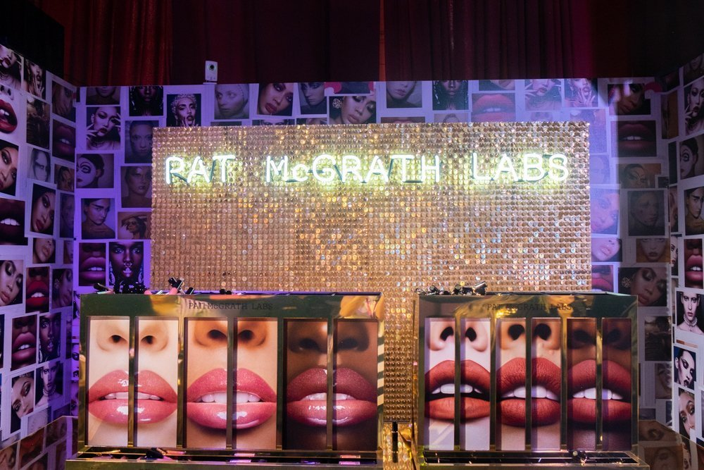 Pat McGrath labs booth at Sephoria House of Beauty