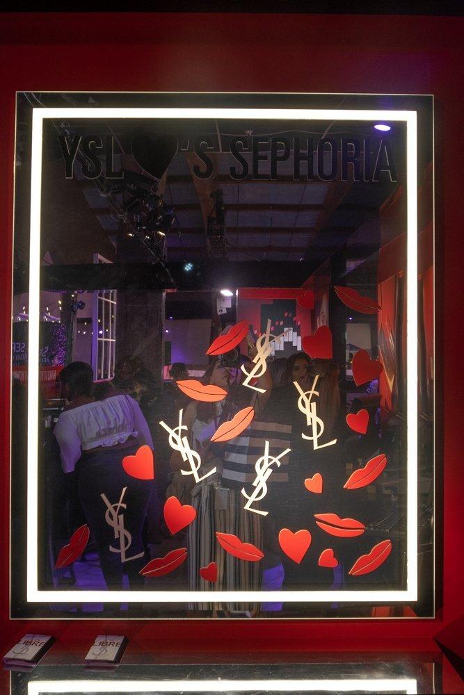 YSL love Sephora, Sephoria House of Beauty