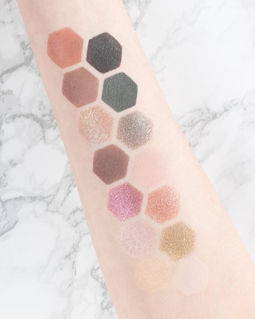 Wearing Sigma Beauty Enchanted Eyeshadow Palette swatches