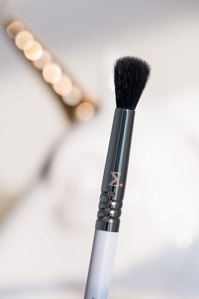 Sigma Beauty Enchanted Eyeshadow Palette dual-end brush