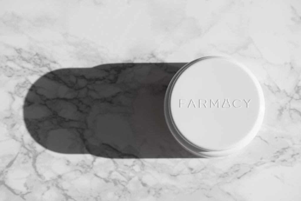 Farmacy Beauty Green Clean Makeup Meltaway Cleansing balm redesigned cap