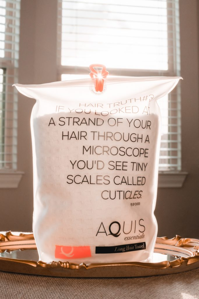 Aquis Rapid Dry Waffle Luxe Long Hair Towel
