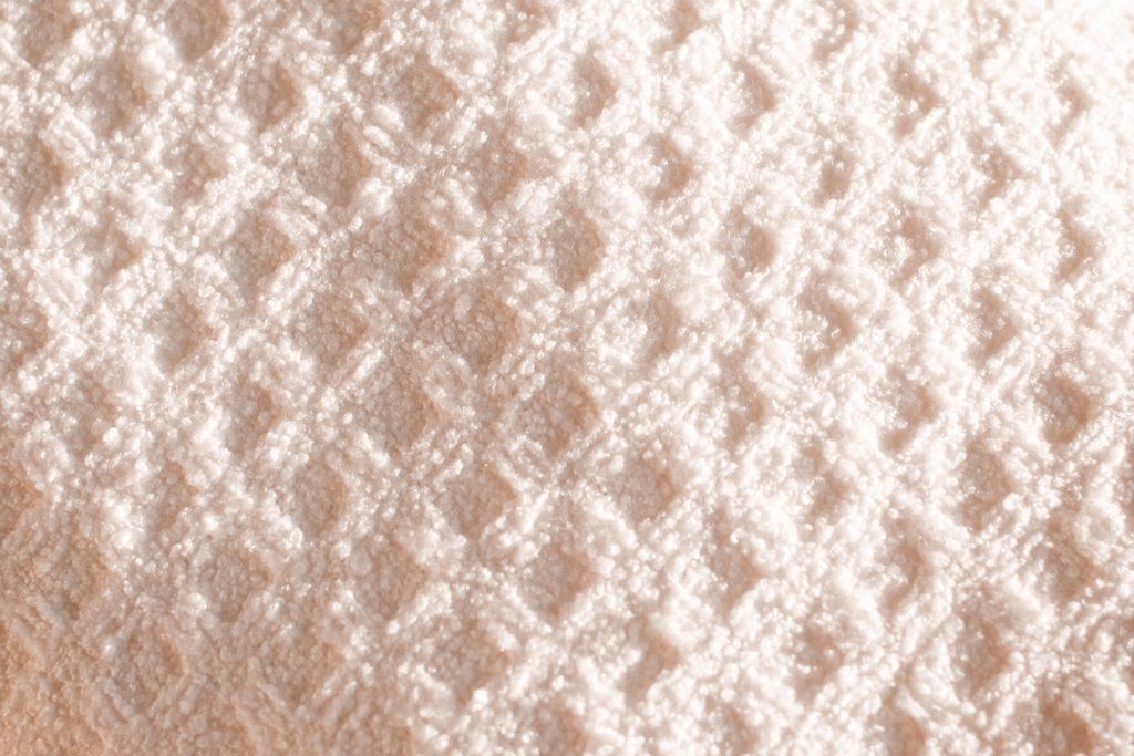 Aquitex fabric in waffle pattern