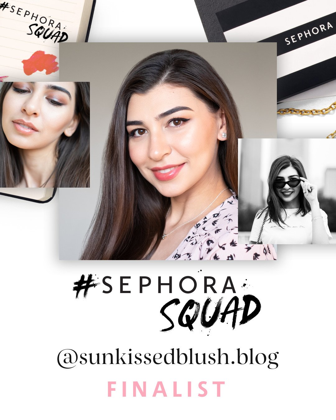Farah Gasimzade, founder of Sun Kissed Blush, finalists of #SephoraSquad 2020
