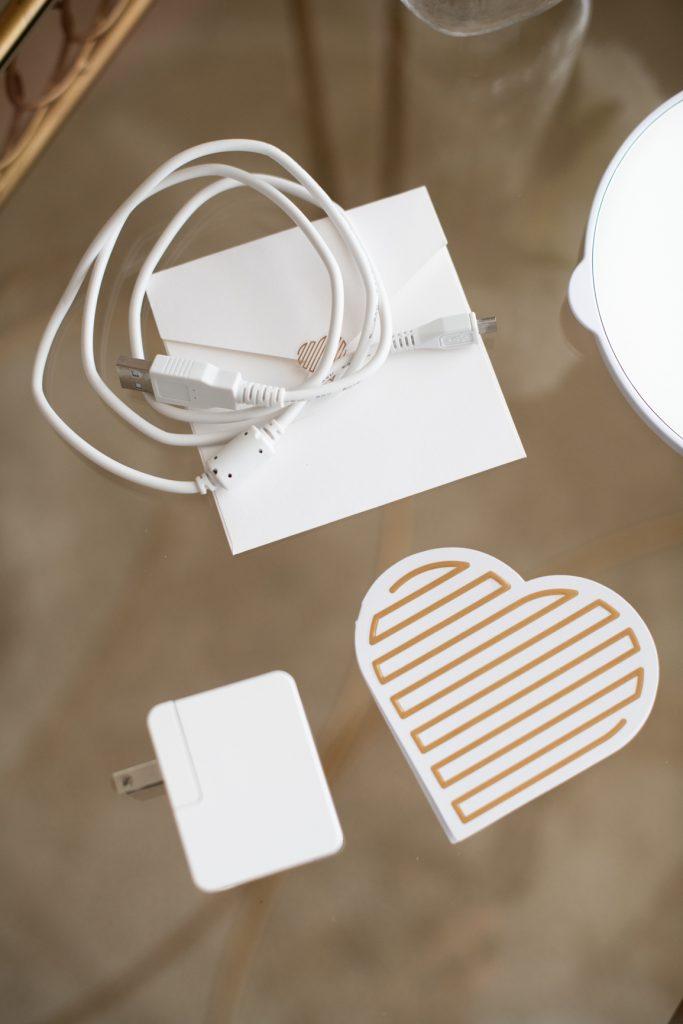 RIKI LOVES RIKI Skinny Vanity Lighted Mirror USB charger