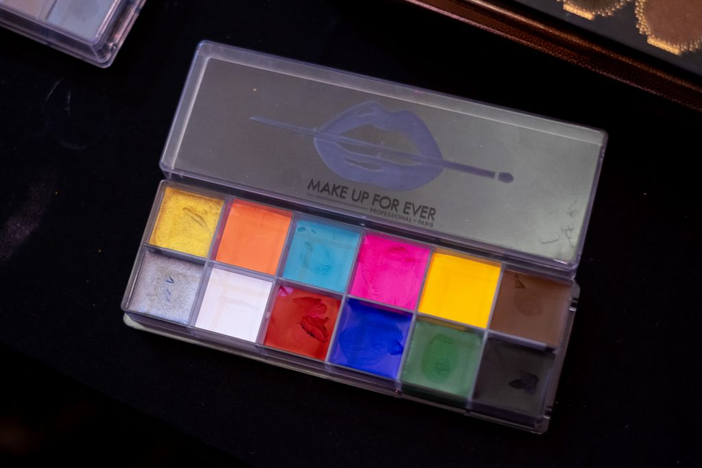 Make Up For Ever professional color palette