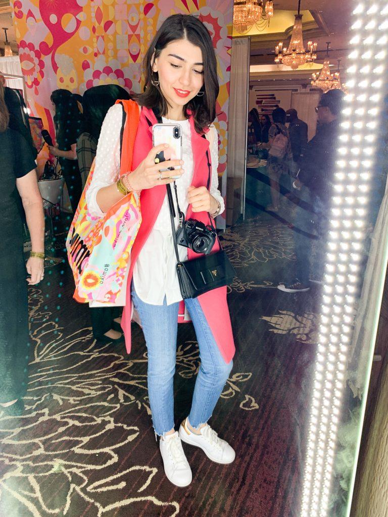 Farah Gasimzade at The Makeup Show