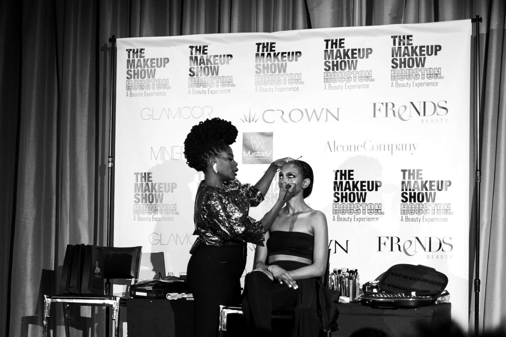 Danessa Myricks Keynote Presentation at The Makeup Show, Houston, TX
