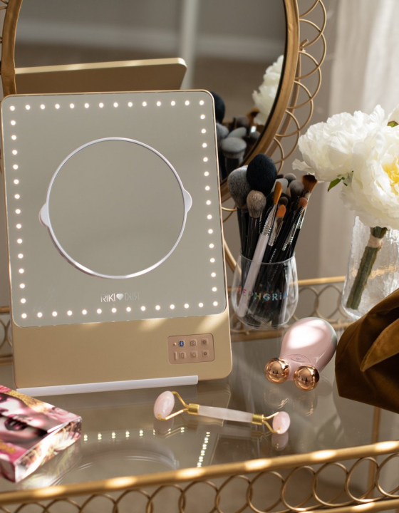 RIKI LOVES RIKI Skinny Lighted Mini Vanity Mirror Review